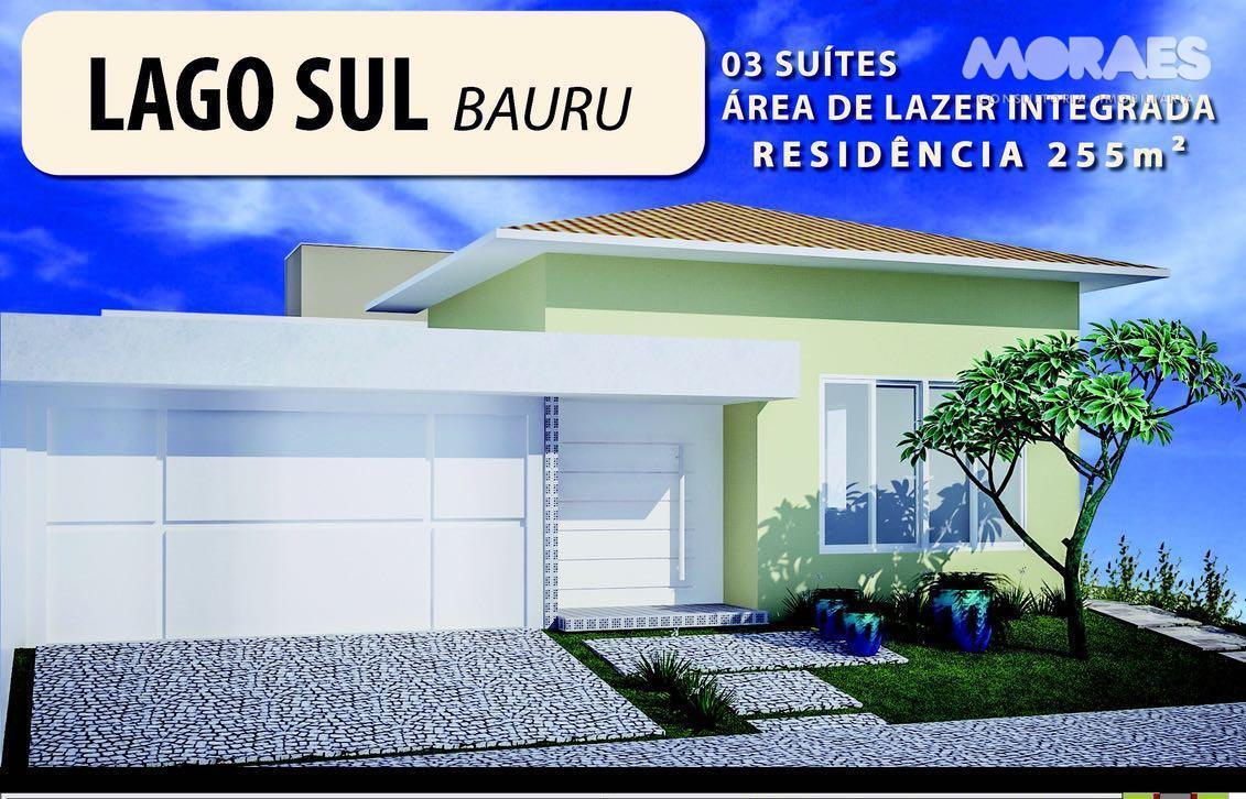 Casa à venda, Residencial Lago Sul, Bauru.