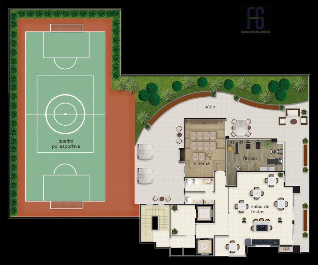 """o residencial sonnenschein possui apenas 14 unidades """"tipo"""" e 01 unidade cobertura. localização nobre, piscinas infantil..."""