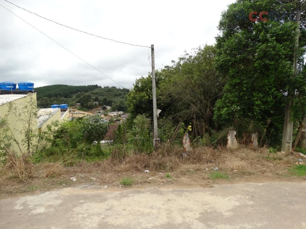 TERRENO, Campo Magro, com 499,50 m2 há 1 Quadra da  Est. do Cerne