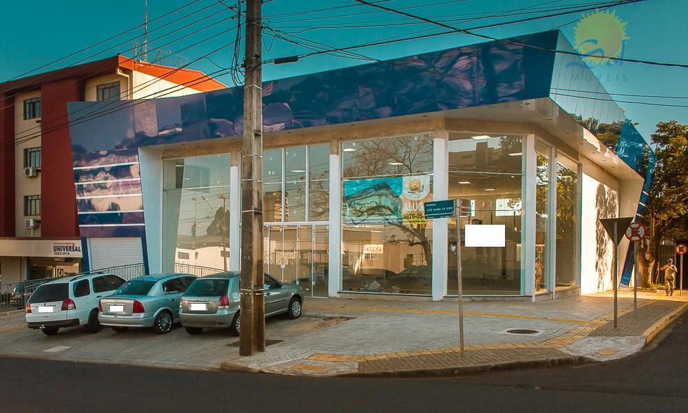 Sala comercial para locação na Av. José Maria de Brito em Foz do Iguaçu