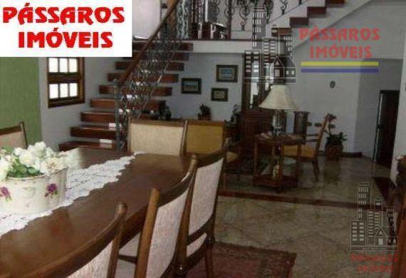 Sobrado residencial à venda, Parque dos Pássaros, São Bernardo do Campo - SO0279.