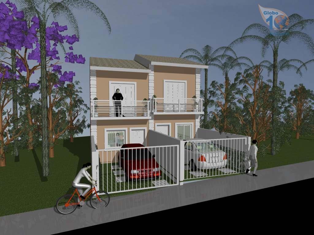Total Imóveis - Casa 2 Dorm, Cajuru, Sorocaba