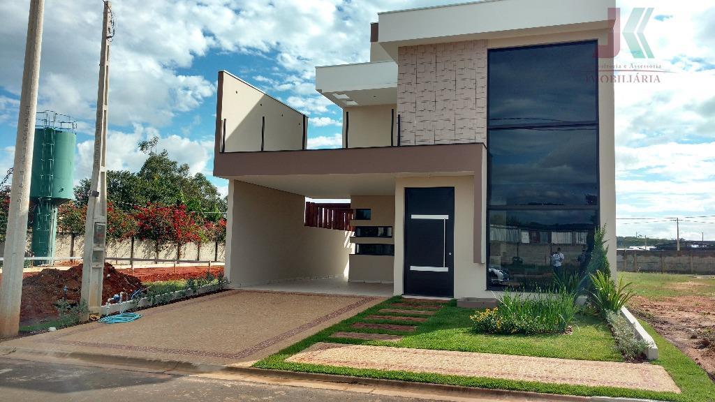 Casa residencial à venda, Condomínio Hawai, Jaguariúna.