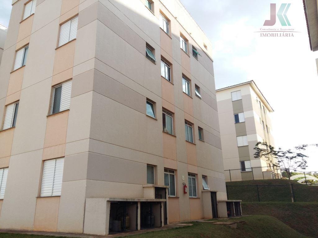 Apartamento residencial à venda, Vargeão, Jaguariúna - AP0680.