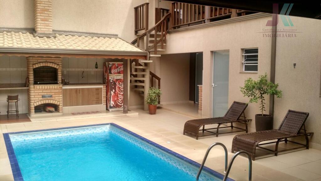 Casa residencial à venda, Jardim Elisa, Jaguariúna - CA2495.