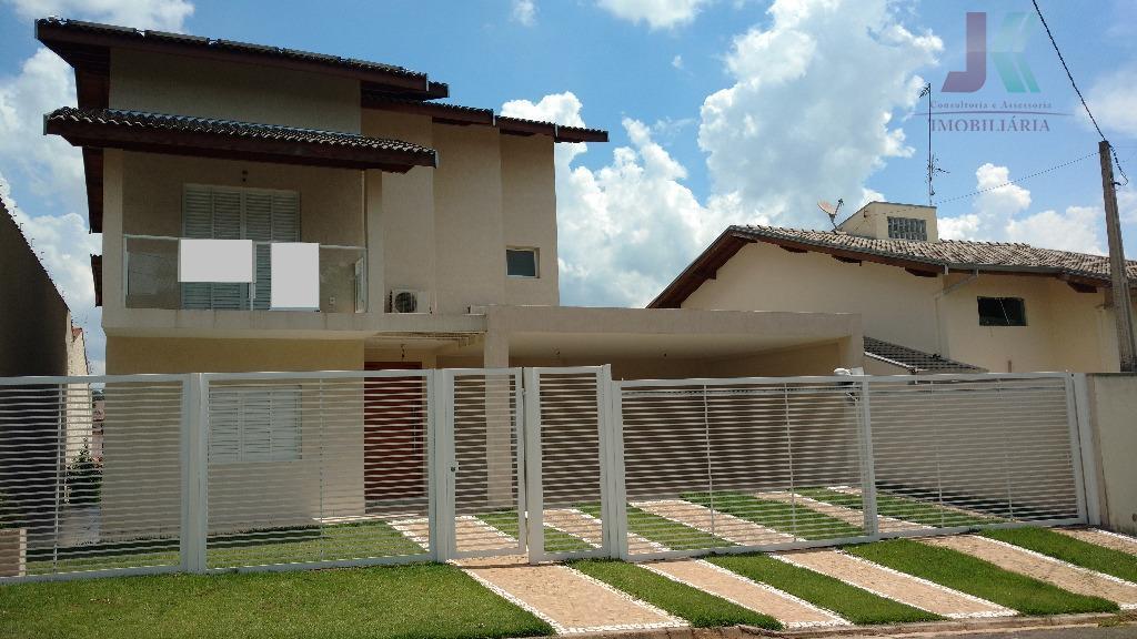 Casa residencial à venda, Estância das Flores, Jaguariúna - CA1963.