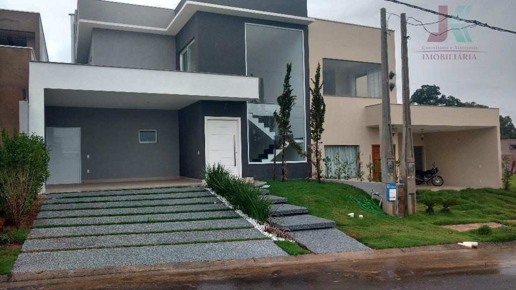 Casa residencial à venda, Condomínio Panini, Jaguariúna - CA2395.
