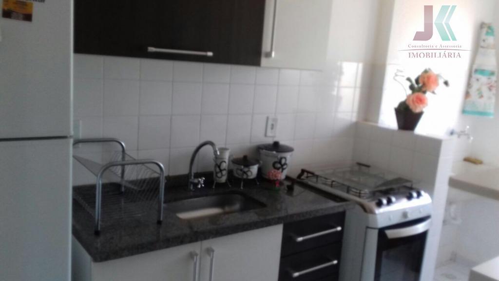 Apartamento residencial à venda, Quinta das Pitangueiras, Jaguariúna.