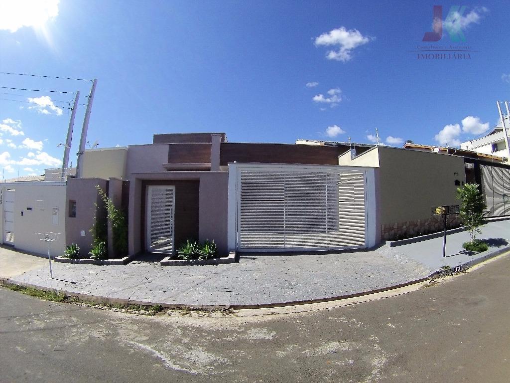 Casa residencial para venda e locação, Nova Jaguariúna III, Jaguariúna - CA2505.