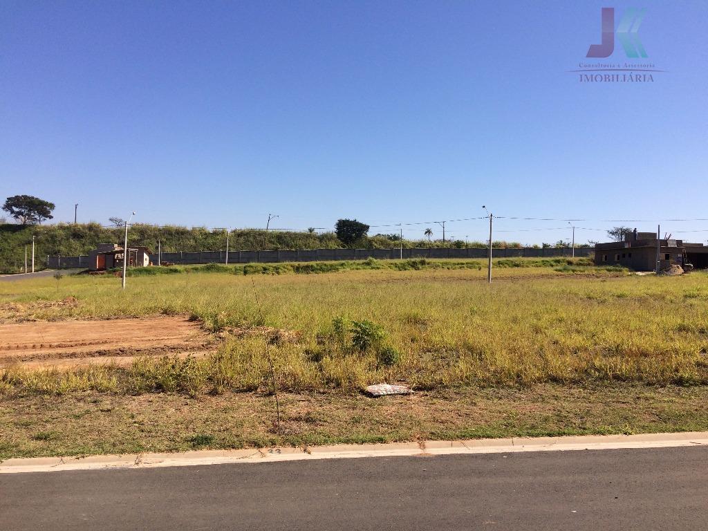 Terreno residencial à venda em condomínio fechado, Guedes, Jaguariúna.
