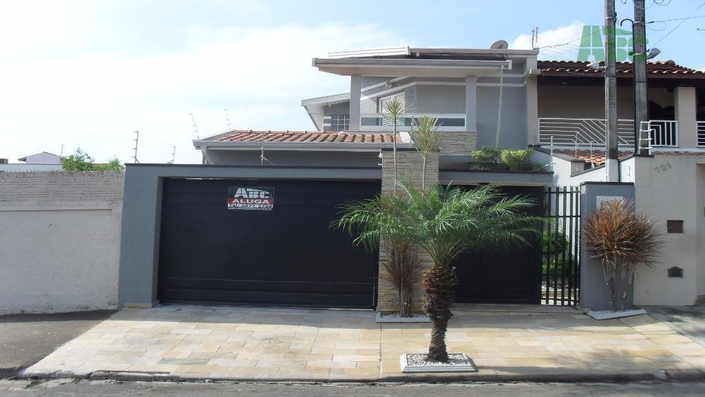 Casa  residencial para locação, Vila José Kallil Aun, Cosmópolis.
