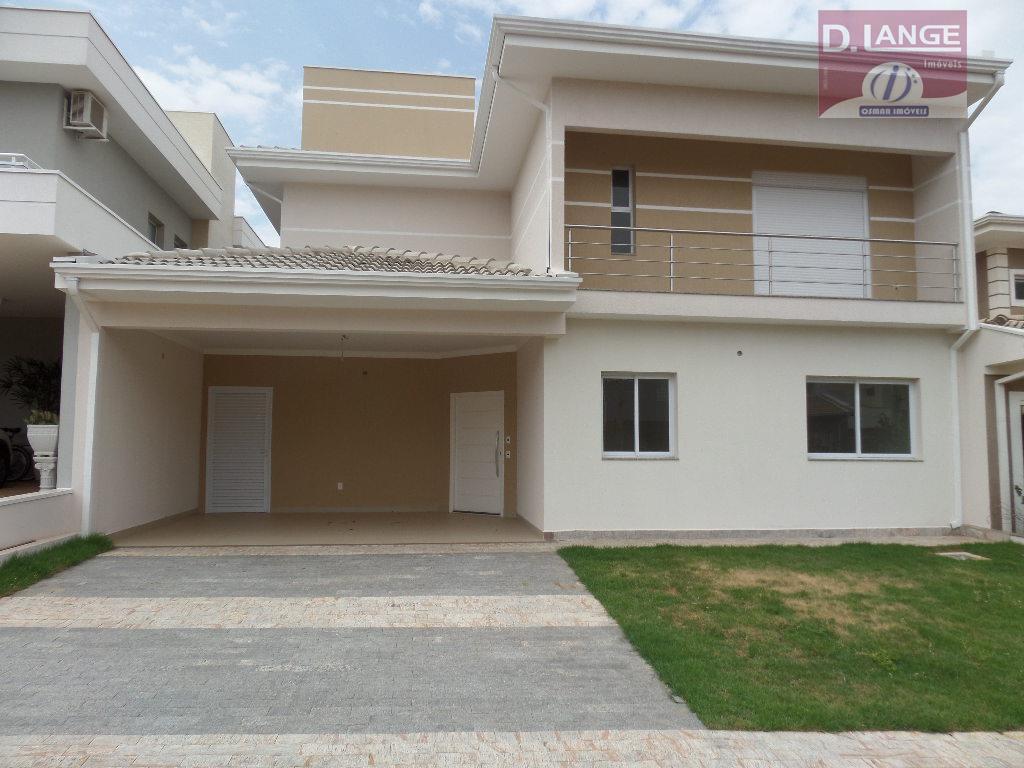 Sobrado residencial à venda, Condomínio Residencial Manacás, Paulínia - CA0010.