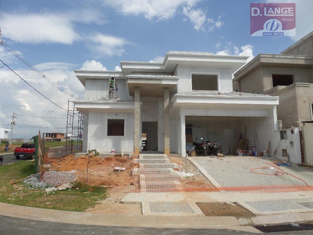 Sobrado residencial à venda, Residencial Parque dos Alecrins, Campinas - SO0097.