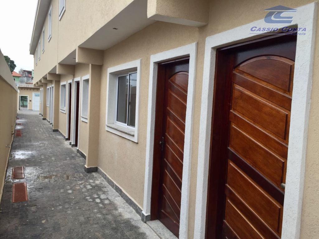 Sobrado com 2 dormitórios à venda, 65 m² por R$ 249.000 - Vila Paranaguá - São Paulo/SP