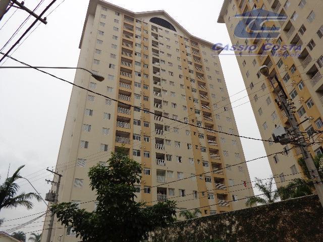 Apartamento com 3 dormitórios à venda, 75 m² por R$ 400.000 - Ponte Grande - Guarulhos/SP