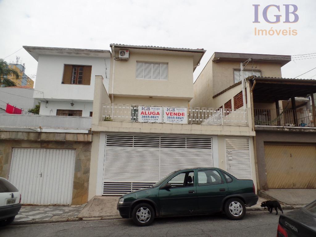 Sobrado residencial para venda e locação, Mandaqui, São Paulo.