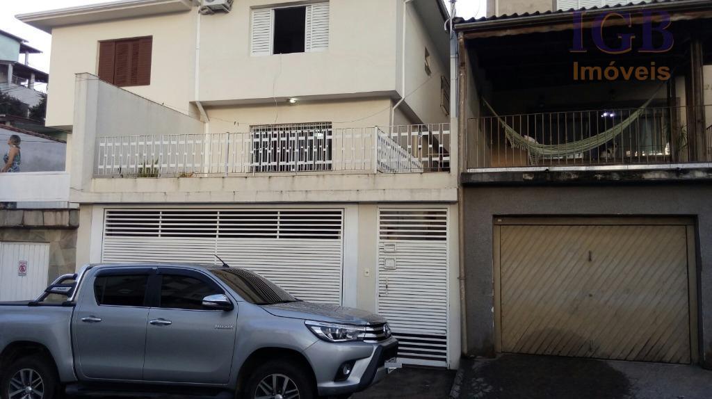 Sobrado residencial à venda, Mandaqui, São Paulo - SO0282.