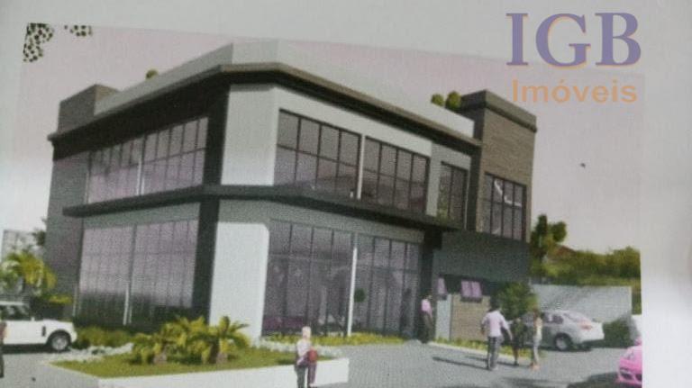 prédio em construção de esquina.térreo com 228 m²- superior com 197 m².excelente localização.ideal para farmácias, lojas,...