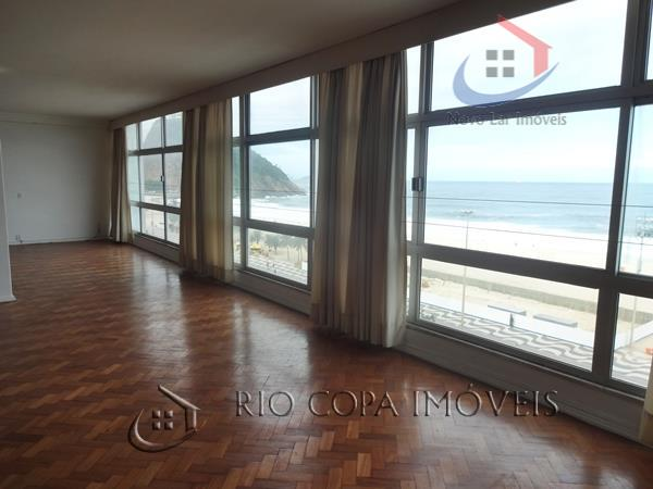 Apartamento residencial à venda, Copacabana, Rio de Janeiro.