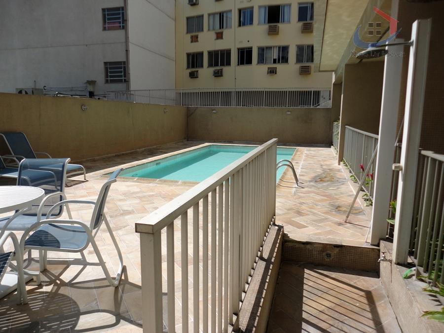 Flat residencial à venda, Botafogo, Rio de Janeiro.