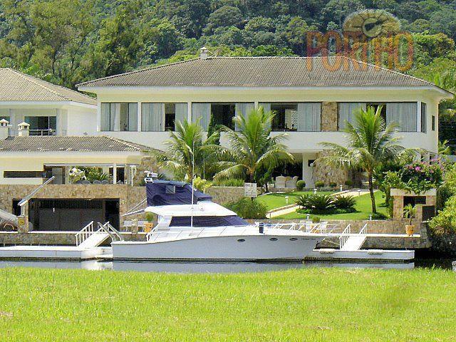 Casa maravilhosa na Marina Guarujá, Píer para lanchas de até 120 pés