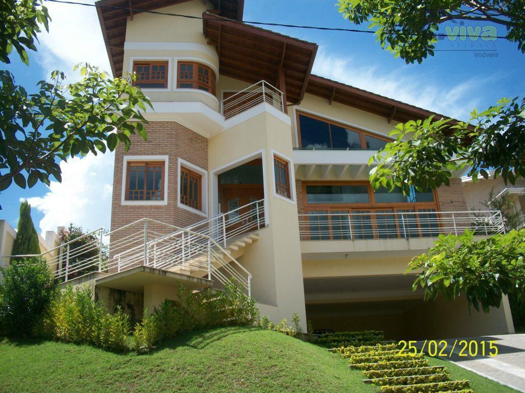 Casa residencial à venda, Condominio Porto Atibaia, Atibaia - CA0007.