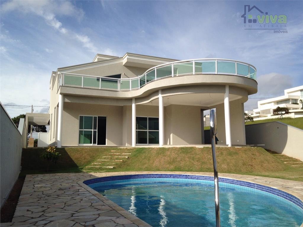 Sobrado residencial à venda, Condominio Figueira Garden, Atibaia - SO0680.