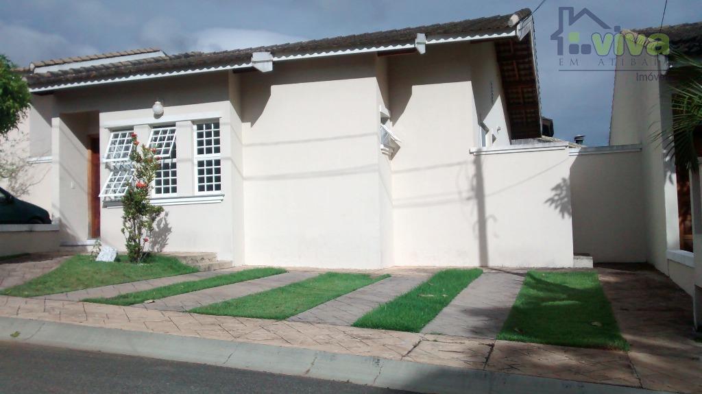 Casa residencial à venda, Condominio Paulista Garden, Atibaia - CA4379.