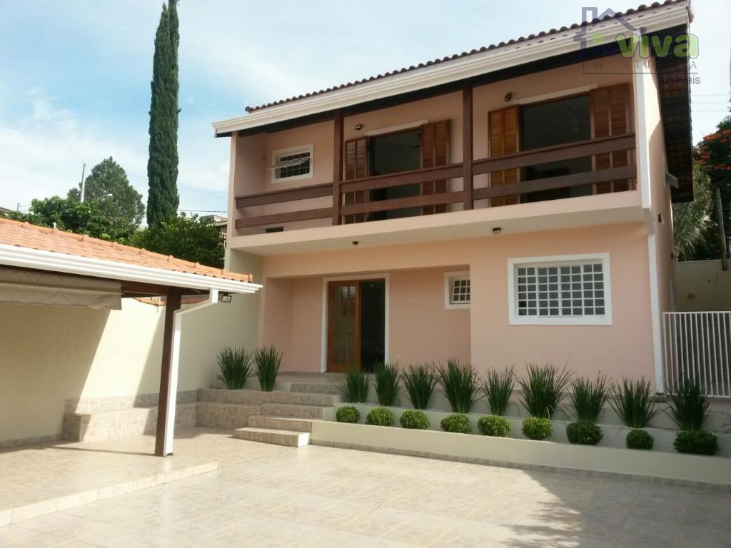 Casa residencial à venda, Recreio Maristela, Atibaia - CA4663.