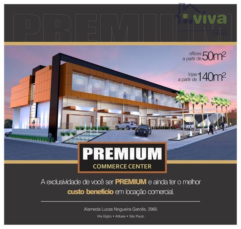Sala comercial para locação, Vila Giglio, Atibaia - SA0011.