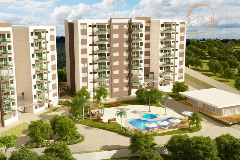 Apartamento residencial à venda, Caetetuba, Atibaia.