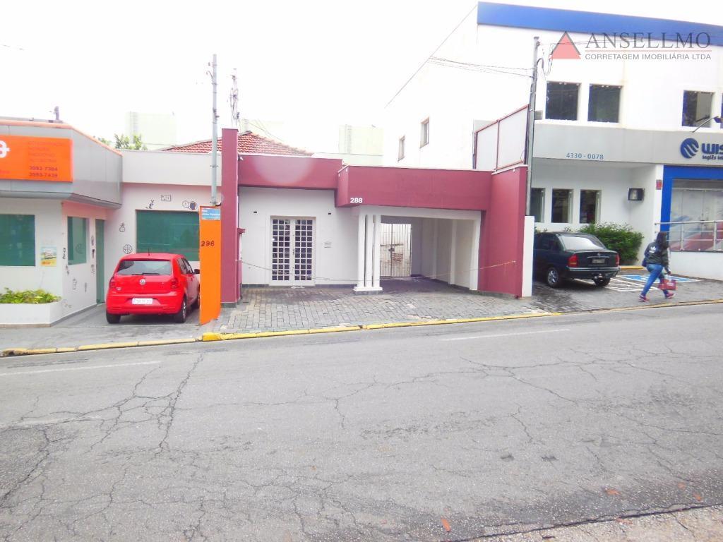 Casa comercial para locação, Centro, São Bernardo do Campo.