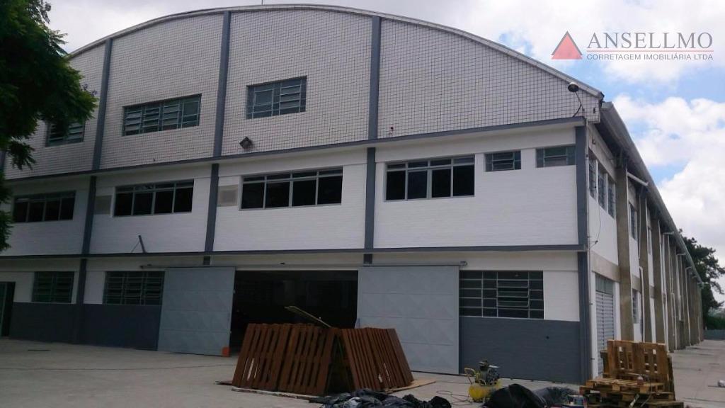 Galpão industrial para locação, Vila Conceição, Diadema.