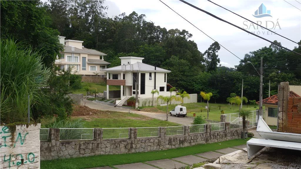 Terreno residencial à venda, Saco Grande, Florianópolis - TE0006.