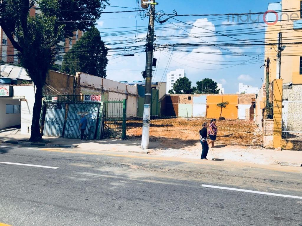 Terreno comercial à venda, Bairro Jardim, Santo André.