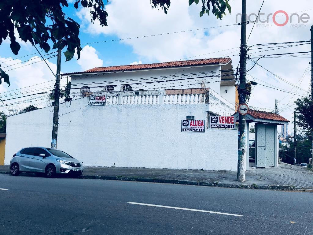 Sobrado comercial para venda e locação, Vila Bocaina, Mauá.