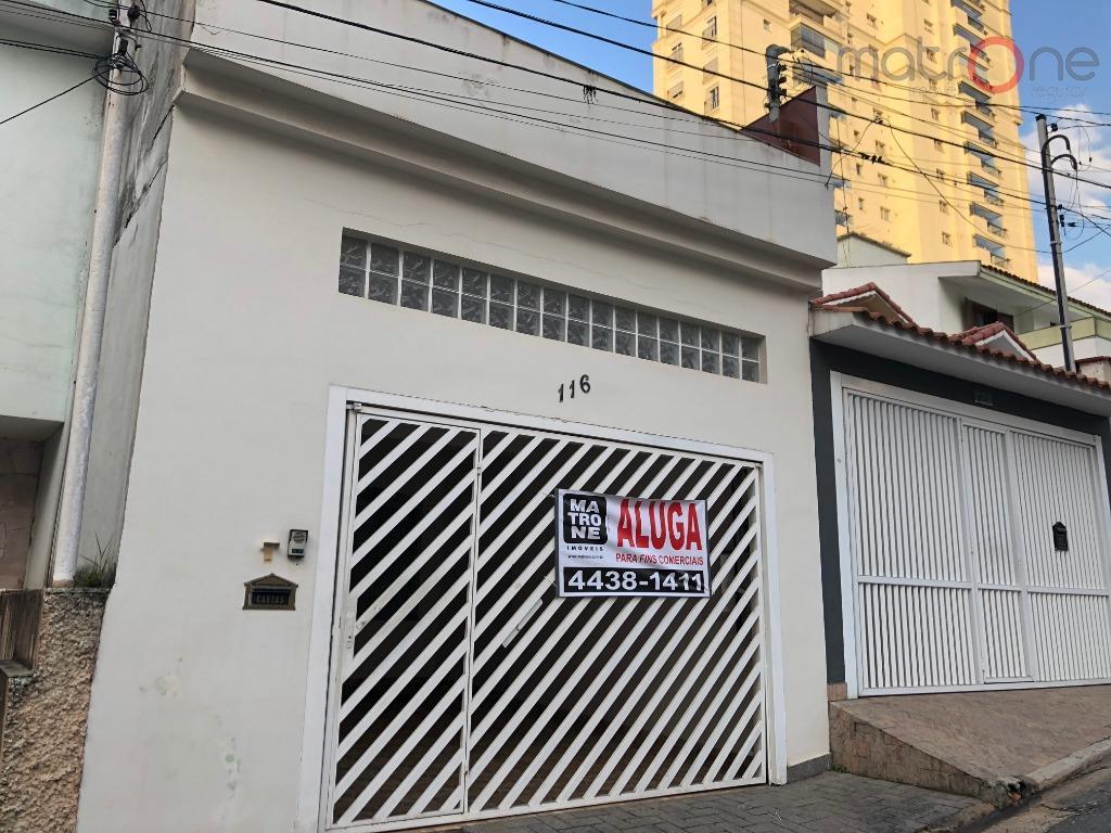 Sobrado comercial para locação, Jardim Bela Vista, Santo André.