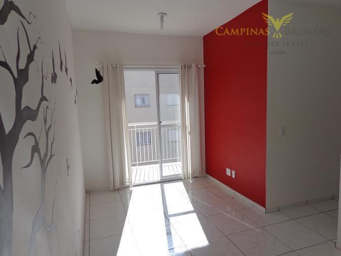 Residencial Mais Campos Salles - Apartamento Residencial à venda, Jardim Jurema, Valinhos.