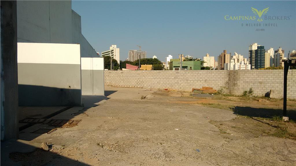 Terreno Comercial para locação, Vila Itapura, Campinas-SP