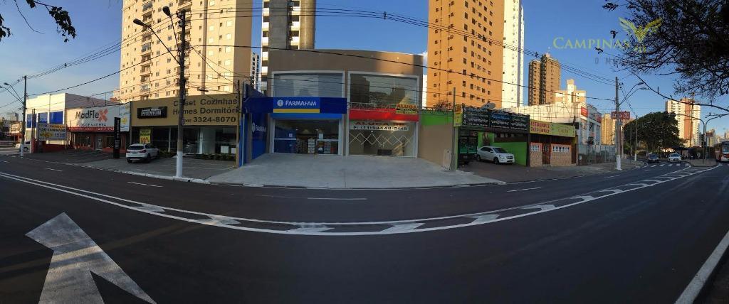 Excelente Barracão Comercial para locação, Centro, Campinas.