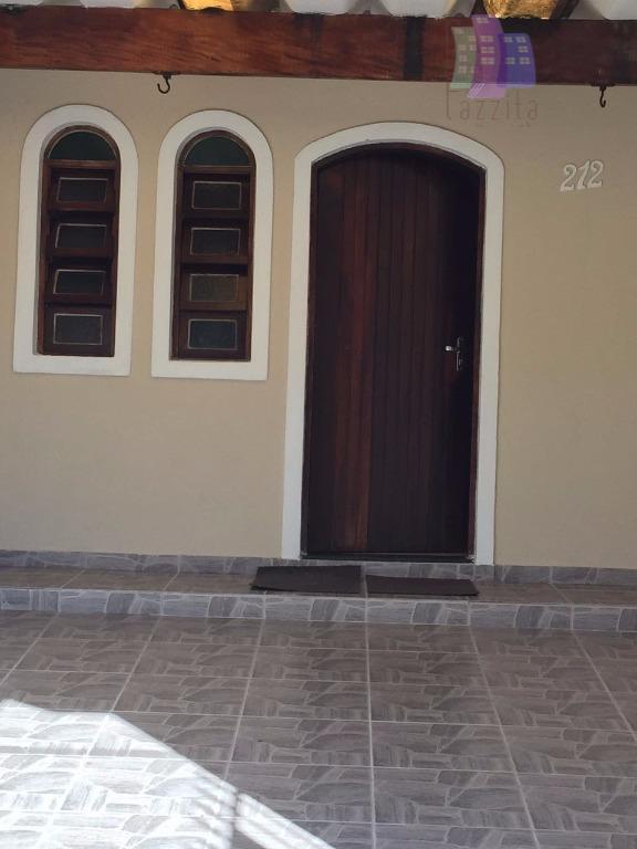 Sobrado residencial à venda, Vila Camilópolis, Santo André.