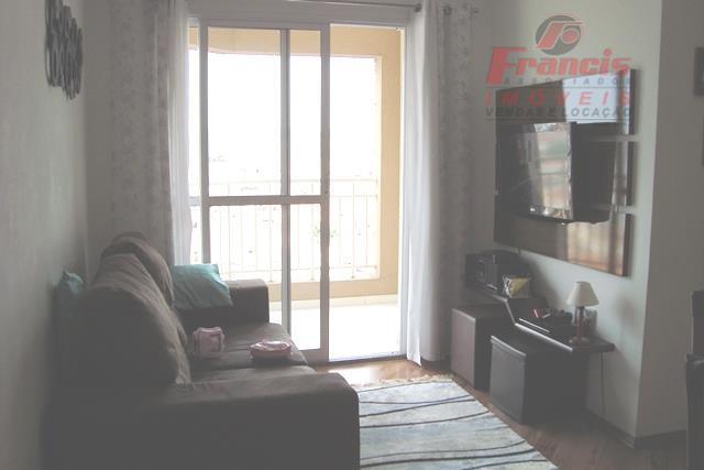 Otimo apto, andar alto, mobiliado, 3 dorms, suite e lazer completo.