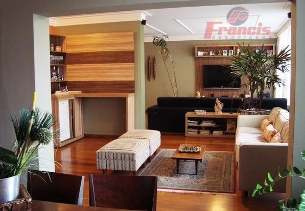 Apto com 280m²AU, 3 dorms, suite, living com 3 ambientes, sala de TV, escritório, sauna com espaço para descanso