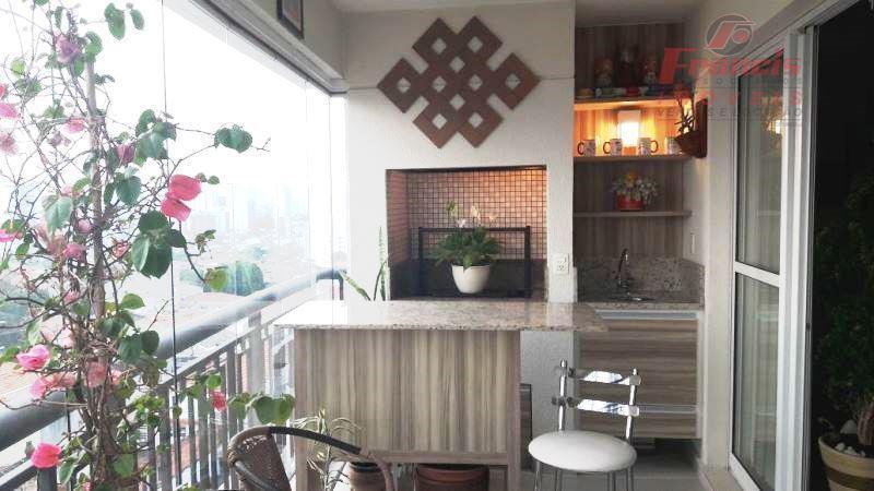 Apto Bosque da Saúde, 3 dorms, suite, terraço envidraçado com churrasqueira, 2 vagas e lazer completo