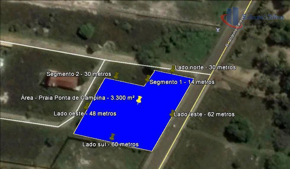 3.300 m² à venda, Ponta de Campina, Cabedelo/PB