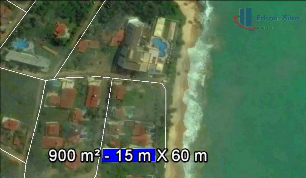 900 m² a beira-mar mesmo, Praia de Tabatinga/PB