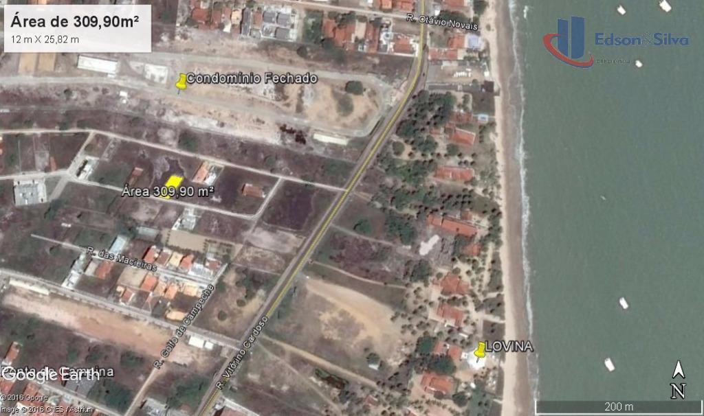 Terreno à venda, Ponta de Campina, Cabedelo
