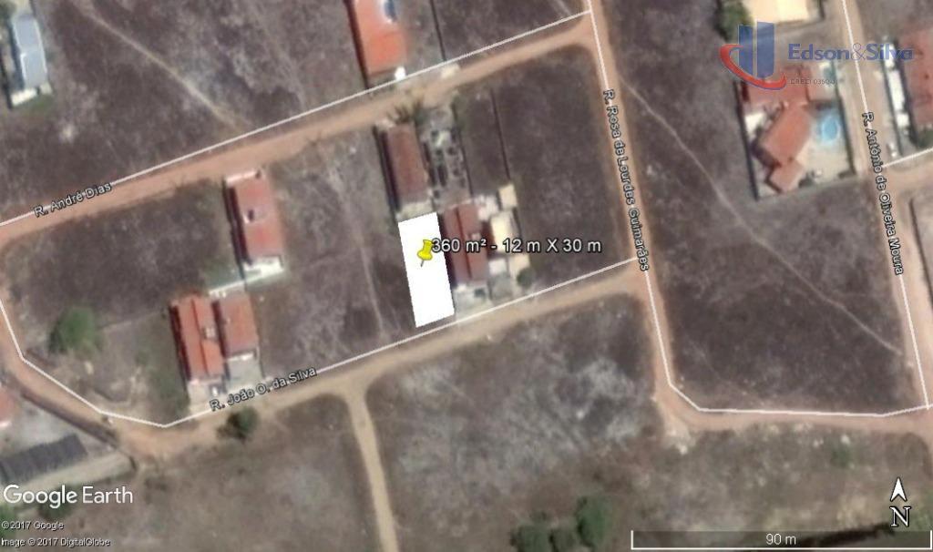 Terreno residencial à venda, Bessa, João Pessoa.