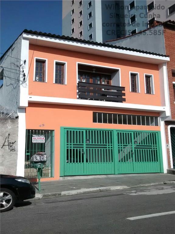 Casa residencial para venda e locação, Jardim Pilar, Mauá - CA0070.