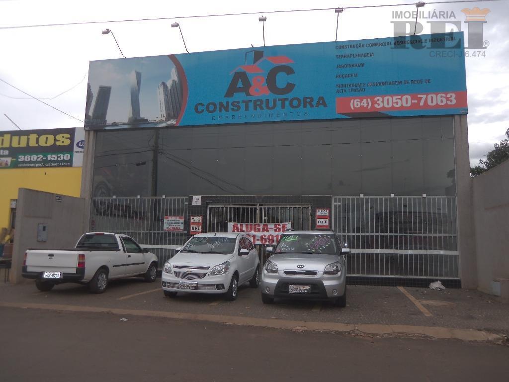 Salão comercial para locação, Santo Agostinho, Rio Verde.